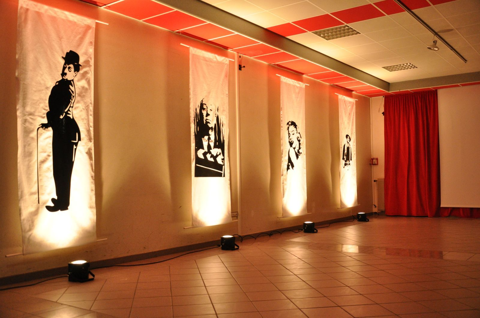 Deco Salle Cinema décoration d'une salle de cinéma éphémère - trait d'emotions